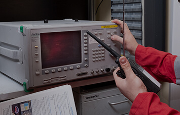 calibrating radio equipment